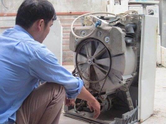 Quy trình vệ sinh máy giặt tại nhà