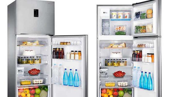 Tủ lạnh-thiết bị gia dụng giúp mọi người tiết kiệm thời gian nấu nướng, đi chợ.