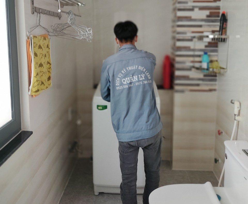 Dịch vụ sửa máy giặt quận 9 của Điện lạnh Quản Lý