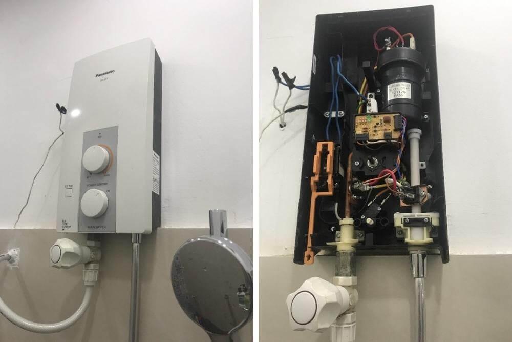 Liên hệ Điện lạnh Quản lý để được hỗ trợ các hư hỏng của máy nước nóng lạnh