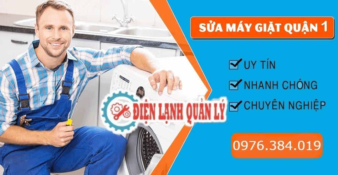 Đáp ứng tốt nhu cầu sửa máy giặt Quận 1 tại Điện Lạnh Quản Lý