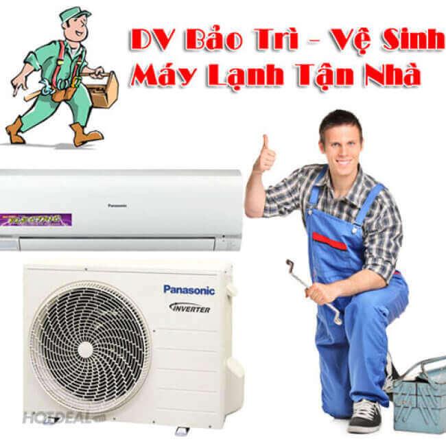 Dịch vụ vệ sinh máy lạnh quận 2 của điện lạnh Quản Lý