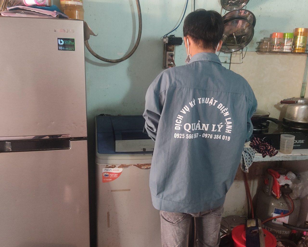 Hãy liên hệ với trung tâm bảo trì sửa máy giặt ở Gò Vấp gần nhất nhé