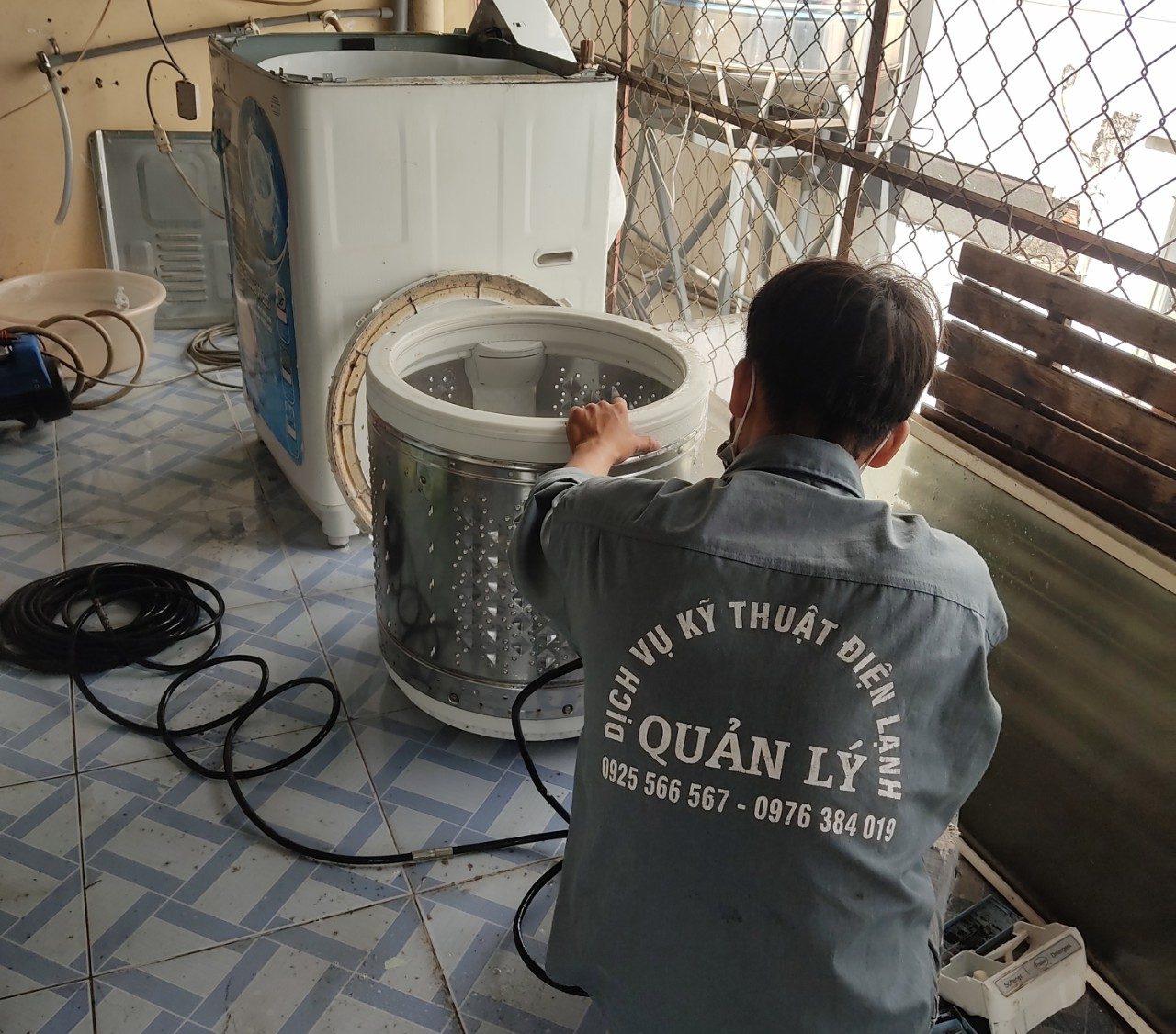 Quy trình sửa máy giặt tại quận 3 chuyên nghiệp