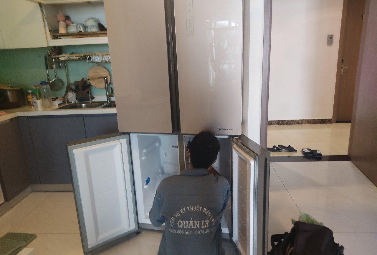 Dịch vụ sửa tủ lạnh Quận 1 tại Điện Lạnh Quản Lý.