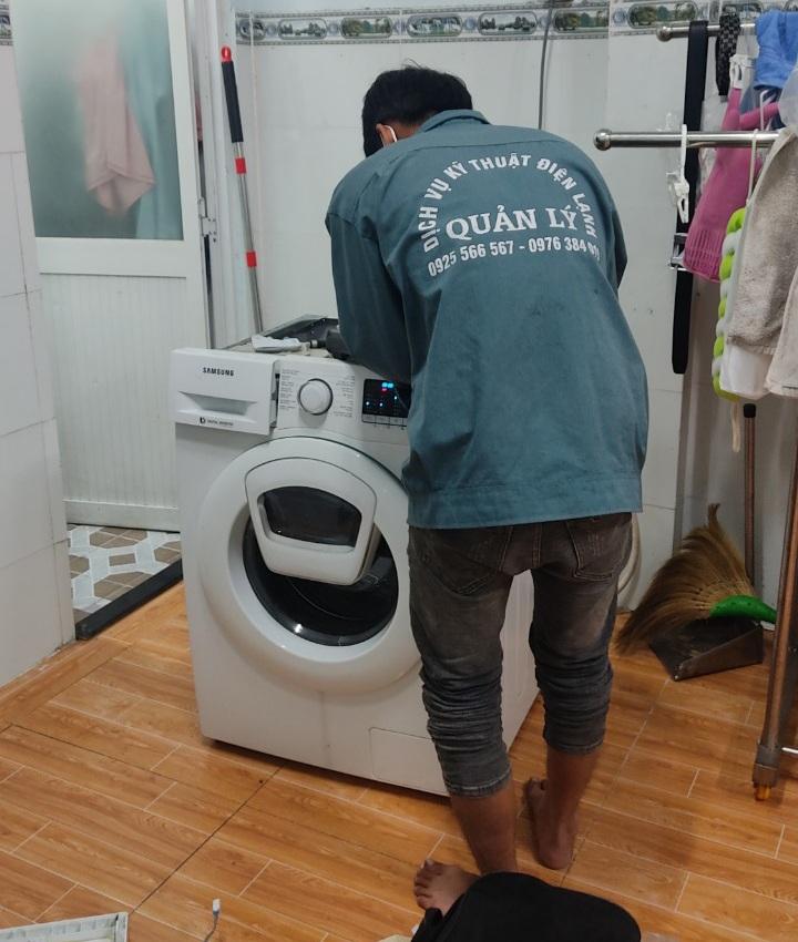 Quy trình tiếp nhận và sửa chữa máy giặt Điện Lạnh Quản Lý