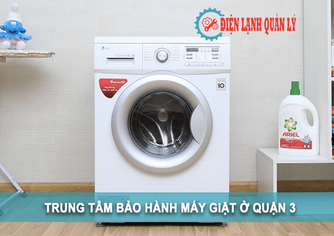 trung tâm bảo hành máy giặt ở quận 3