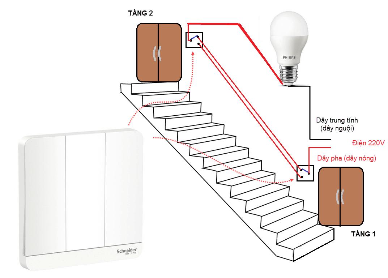 Hướng dẫn lắp công tắc 3 cực đúng, an toàn