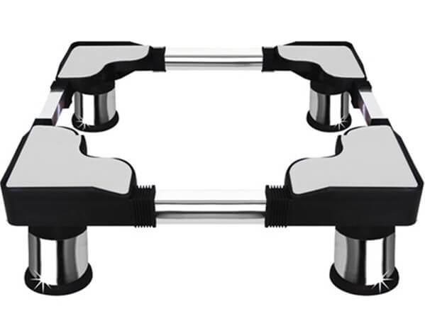 Chân đế dùng cho máy giặt có nhiều kích thước tương ứng với trọng lượng của máy giặt