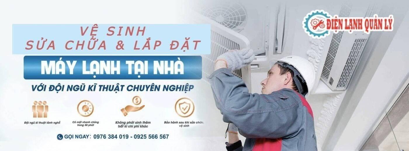Lý do nên chọn dịch vụ sửa máy lạnh Dĩ An của Điện lạnh Quản lý