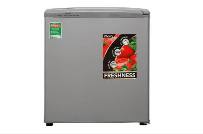 Tủ lạnh mini Aqua dòng 1 cánh có giá thành từ 2,7 đến 2,9 triệu đồng.