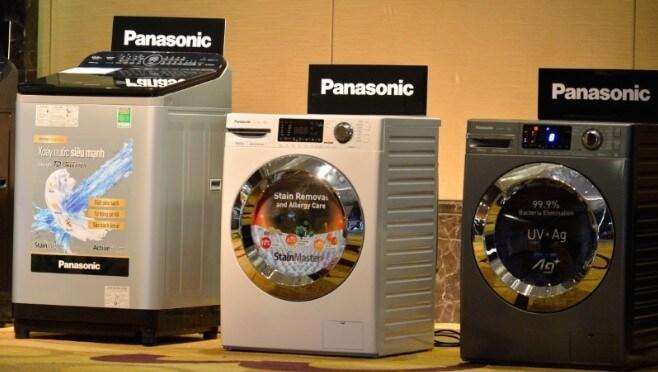 Máy giặt Panasonic đa dạng về mẫu mã và kích thước.