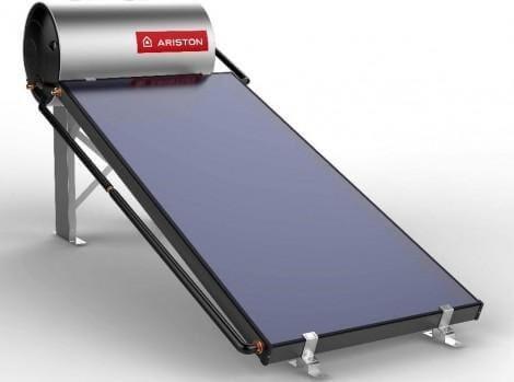 Máy nước nóng với tấm phẳng giúp tiết kiệm tối ưu điện năng.