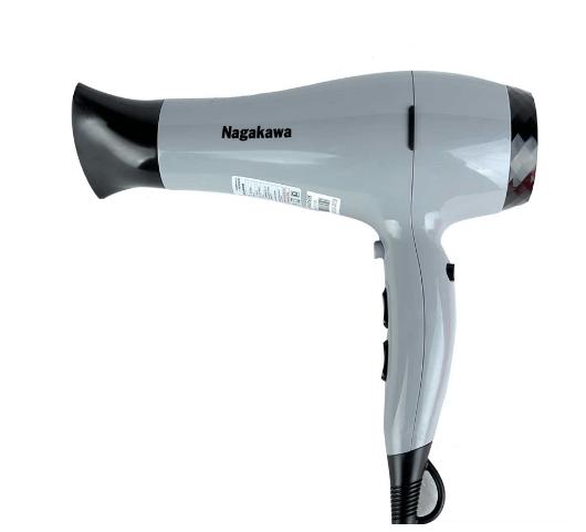Máy sấy tóc Nagakawa NAG1606 được thiết kế tấm tản nhiệt hiện đại.