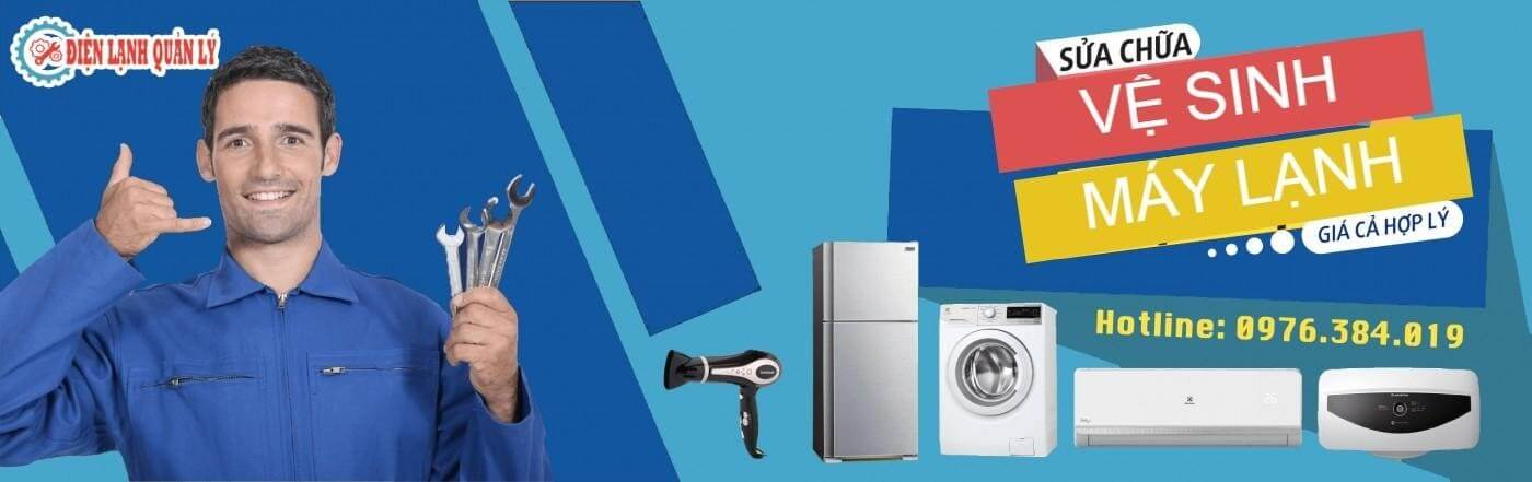 Trung tâm vệ sinh máy giặt Dĩ An uy tín – Điện Lạnh Quản Lý.