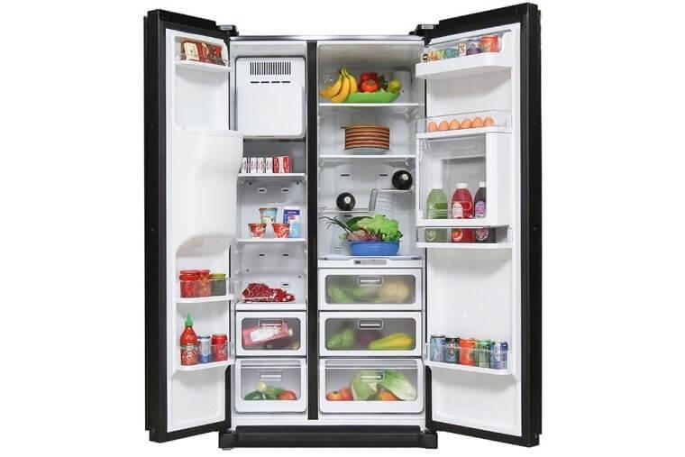 Dòng tủ lạnh Side by Side với thương hiệu LG từ châu Âu.