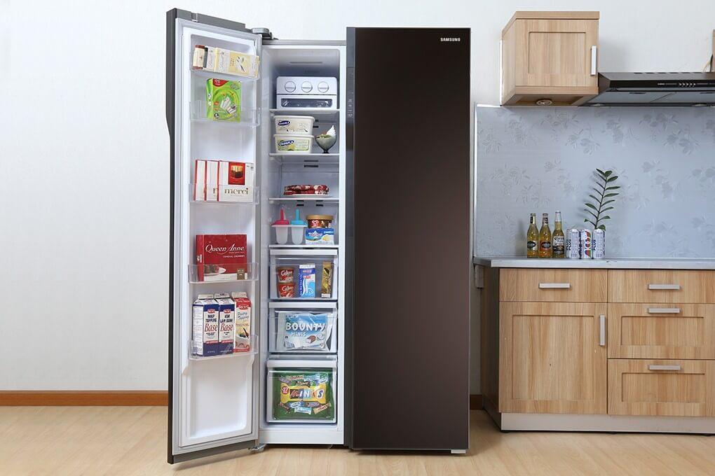 Tủ lạnh Side by Side mang lại sự sang trọng và đẳng cấp cho ngôi nhà bạn.