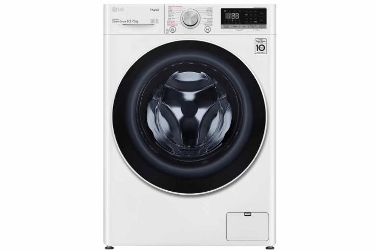 Máy giặt sấy lồng ngang LG Inverter FV1408G4W 8.5 Kg