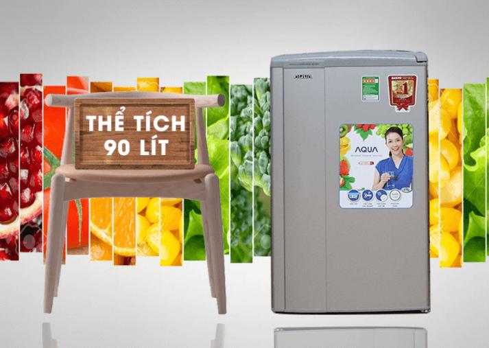 Tủ lạnh Aqua Sanyo AQR-95AR 90 lít